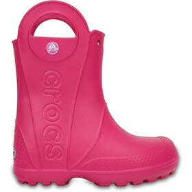 Crocs Handle It Botas para lluvia Niños, candy pink